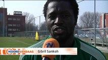 Sankoh : Groningen is mijn lieve club, ik hou heel veel van Groningen - RTV Noord