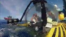 Fantôme des grands fonds - Le calamar géant