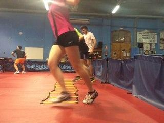 Treball de coordinació Tennis Taula. Footwork