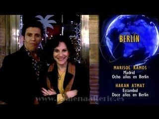Marisol (Malena Alterio) y Hakan (Younes Bachir) 'Los españoles diplomados limpian la cocina'