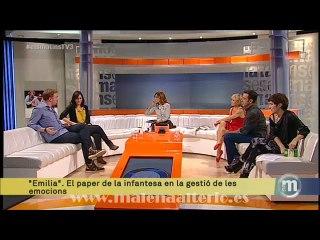 Entrevista a Malena Alterio en Els matins (16-10-14)