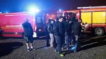 Incendie chez Sambre et Meuse à Feignies