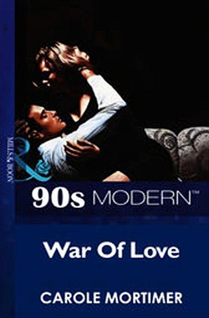 Download War Of Love Mills Boon Vintage 90s Modern ebook {PDF} {EPUB}