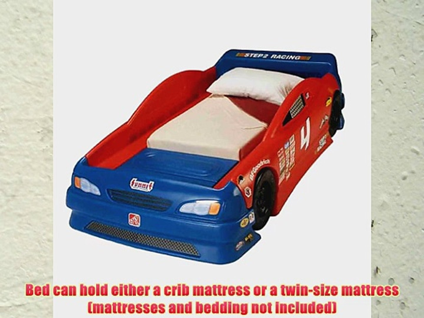 Step2 Stock Car Convertible Bed Video Dailymotion