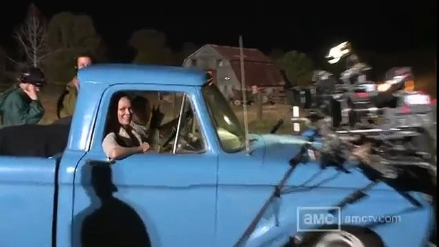 THE WALKING DEAD - THE MAKING OF THE SEASON 2 FINALE - Andrew Lincoln, Norman Reedus, Lauren Cohan, Steven Yeun - Entertainment TV Television Show Horror Zombies