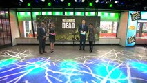 THE WALKING DEAD - BEHIND THE SCENES INTERVIEW, TODAY - Andrew Lincoln, Norman Reedus, Lauren Cohan, Steven Yeun - Entertainment TV Television Show Horror Zombies