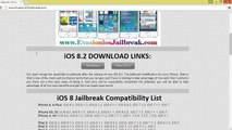 Évasion fiscale UNTETHERED iOS 8.2 Outil Jailbreak pour iPhone 5, iphone 4, iPhone 3GS, iPad3