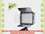 YONGNUO YN300 300 LED Camera Video Light With remote For Canon  Nikon  samsung  Olympus  JVC
