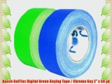 Rosco GaffTac Digital Green Keying Tape / Chroma Key 2 x 50 yd
