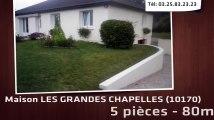 A vendre - LES GRANDES CHAPELLES (10170) - 5 pièces - 80m²