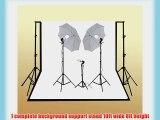 ePhoto 1000watt Digital Video Film Continuous Photography Studio Light Kit Video Photo Lighting