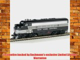 Bachmann Industries F7-A DCC Sound Value Equipped HO Scale Diesel Santa Fe Locomotive Red/Silver