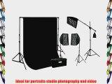 ePhoto HoneyComb Grid Photography Video Softbox 2400 Watt Boom Hair Lighting Kit