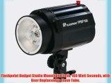 Flashpoint Budget Studio Monolight Flash 160 Watt Seconds with User Replaceable Flash Tube.