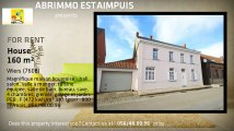 For Rent - House - Wiers (7608) - 160m²
