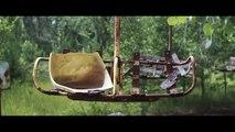 Postcards from Pripyat, Chernobyl (Drone Footage) - Tchernobyl ville abandonnée filmée par drone (musique Thomas Frost)