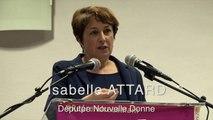 Bayeux : Isabelle Attard en meeting Elections départementales