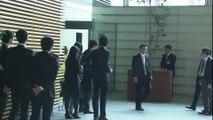 Le Premier ministre Shinzo Abe s'exprime après la mort de trois touristes japonais à Tunis