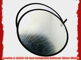 Lastolite LL LR3831 38-Inch Collapsible Reflector (Silver/White)