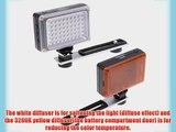 YONGNUO Pro LED Video Light for Canon Nikon Pentax Olympus Samsung Panasonic JVC SLR DSLR Camera