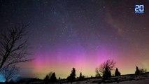 D'impressionnantes aurores boréales observées en France le