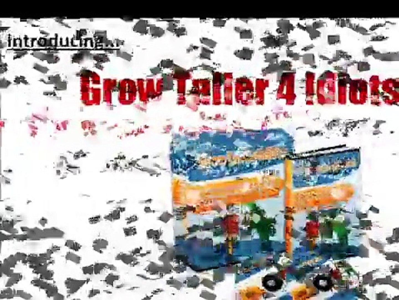 Grow Taller 4 Idiots ~ Best Selling Grow Taller Program