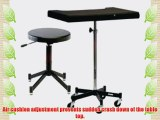 Photogenic TONY Posing Table with Casters and the PG341B Posing Stool (7826SP)