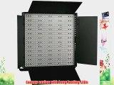 ePhoto 3 Panel 600 LED Lighting Kit Photograph Video Light Panel with Light Stand Kit Sony