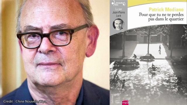 """""""Pour que tu ne te perdes pas dans le quartier"""", de Patrick Modiano, lu par Jean-Pierre Lorit"""