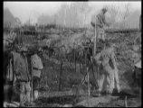 L'enlisement du conflit - En 1916, les armées sont enterrées et on assiste à l'interminable guerre des tranchées.