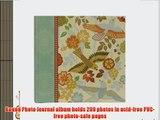 CR Gibson Bound Photo Journal Album 9-Inch by 8.875-Inch Natural Sierra Design