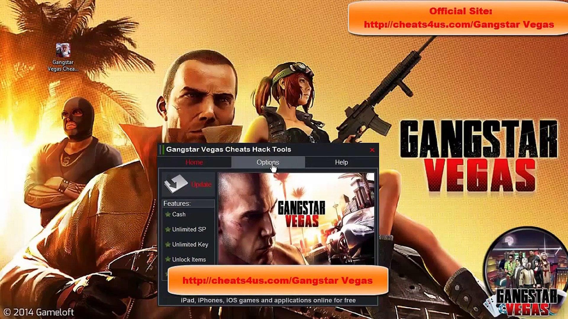 Gangstar Vegas Cheats Hack Tools For Unlimited CashSP Key Unlock  ItemsWeapons - video dailymotion