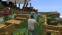 GTA 5 - Minecraft Mod (Funny Moments) (Gmod - Garrys Mod)