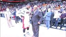 Postgame- Dwyane Wade - Blazers vs Heat - March 18, 2015 - NBA Season 2014-15