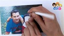 Video manualidades portaretrato SUPER PAPA dia del padre - Videos de manualidades DIA EL PADRE