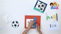 Manualidad Como Hacer Balón De Fútbol Con Papel Sabor De