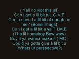 Bone Thugs Ft. JD Mariah _ Bow wow- Lil Love
