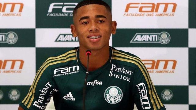 Gabriel Jesus garante: 'Espero que seja meu primeiro e único clube'