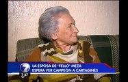 """Familia de """"Fello"""" Meza recuerda con alegría último campeonato del Cartaginés"""