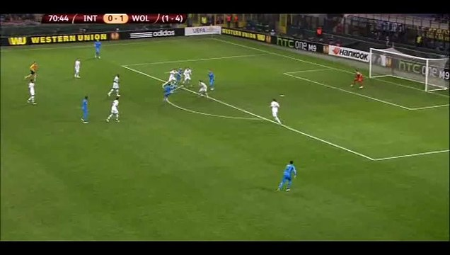 Goal Palacio - Inter 1-1 Wolfsburg - 19-03-2015
