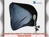 LimoStudio Photo Studio 20 Light Holder with Square Softbox Reflector AGG1165