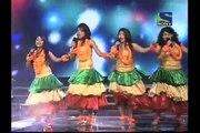 X Factor India - Last Minute's Hawaian Dance on Na Mangu Heera Moti - X Factor India - Episode 12 - 24 June 2011