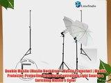 Limostudio New Photo Video Studio Umbrella Continuous Photography Lighting Light Kit Set- Lighting