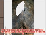 ePHoto Photography Studio Continuous Lighting Umbrella Kit   Free 45 Watts 5500k Fluorescent
