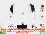Neewer? 3000W Studio Continuous Photo Video Light Boom Stand Kit Includes (3) Softboxes (3)