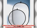 Ardinbir Photo Studio 42 107cm White Translucent Round Collapsible Light Reflector Diffuser