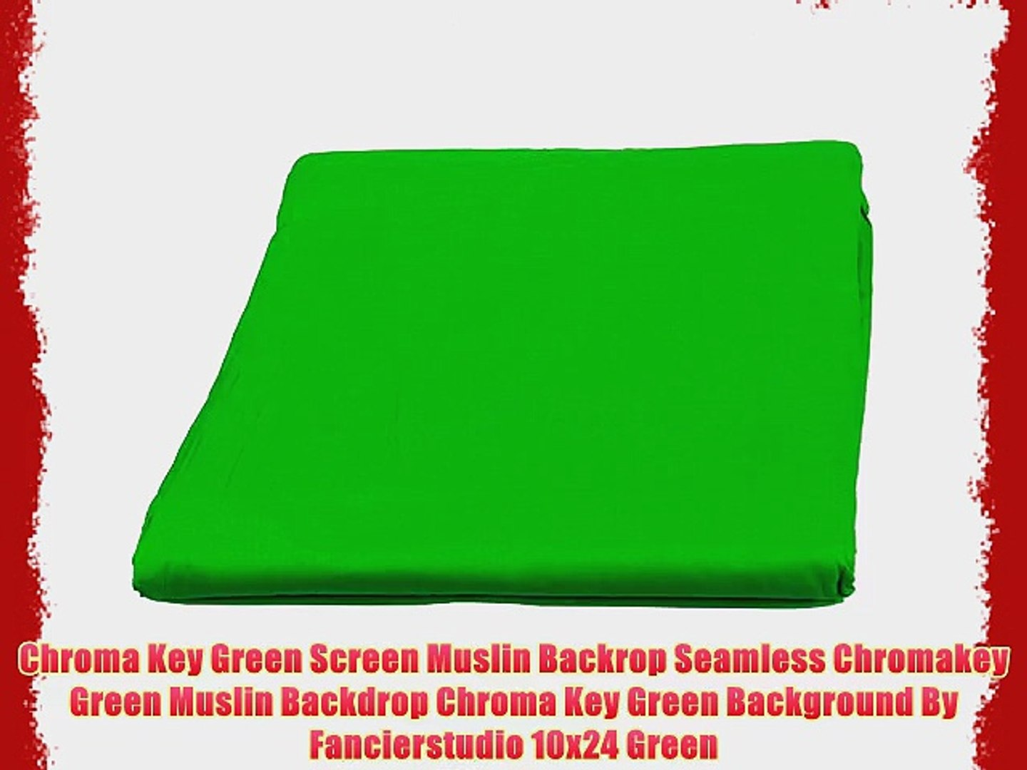 10x12 ft Photography Muslin Backdrop Screen Red-1