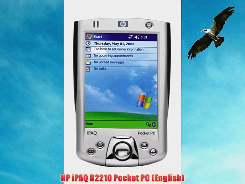 HP iPAQ H2210 Pocket PC (English)