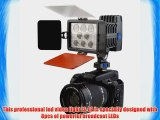 Bestlight Camera 8 LED 22W IS-L8 LED Video Light IS-L8 with Color Temperature 5000K/6000K for
