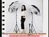 Neewer Photography Studio 600W Day Light Umbrella Continuous Lighting Kit with 2 Umbrellas